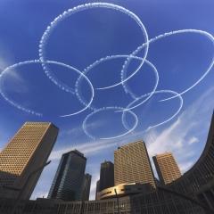 「東京の空に大輪の華」